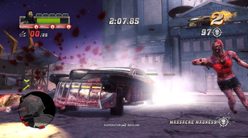 Зомби + Carmageddon = Blood Drive