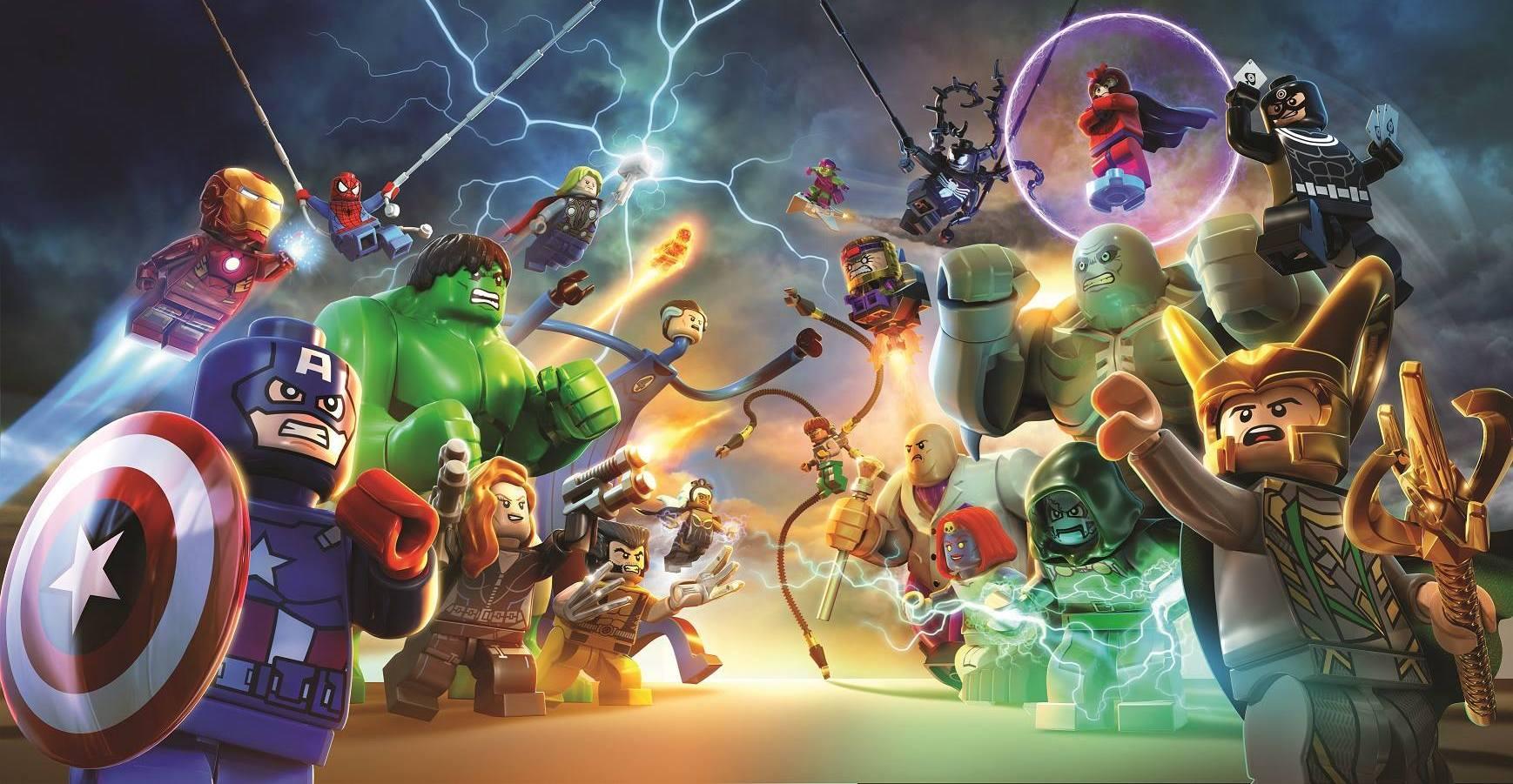 Картинки марвел супергерои лего