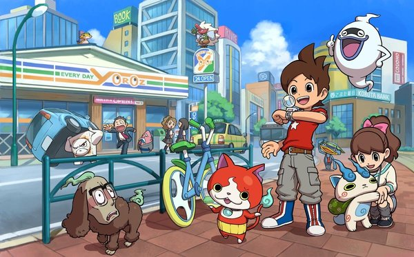Yo-Kai Watch идёт на запад