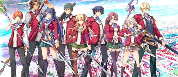Дилогия The Legend of Heroes: Trails of Cold Steel идёт на Запад