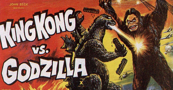 Кинг Конг и Годзилла сразятся на большом экране