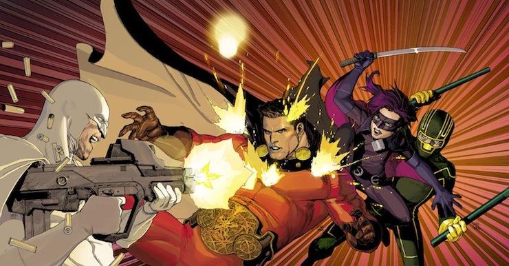 Netflix приобрели студию комиксов ответственную за«Kingsman», «Пипец» и«Особо Опасен»