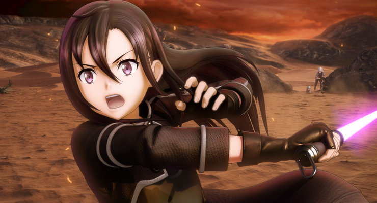 Sword Art Online: Fatal Bullet - анонс