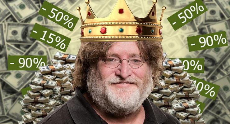 Steam проведет большие распродажи 26октября, 22ноября и21декабря