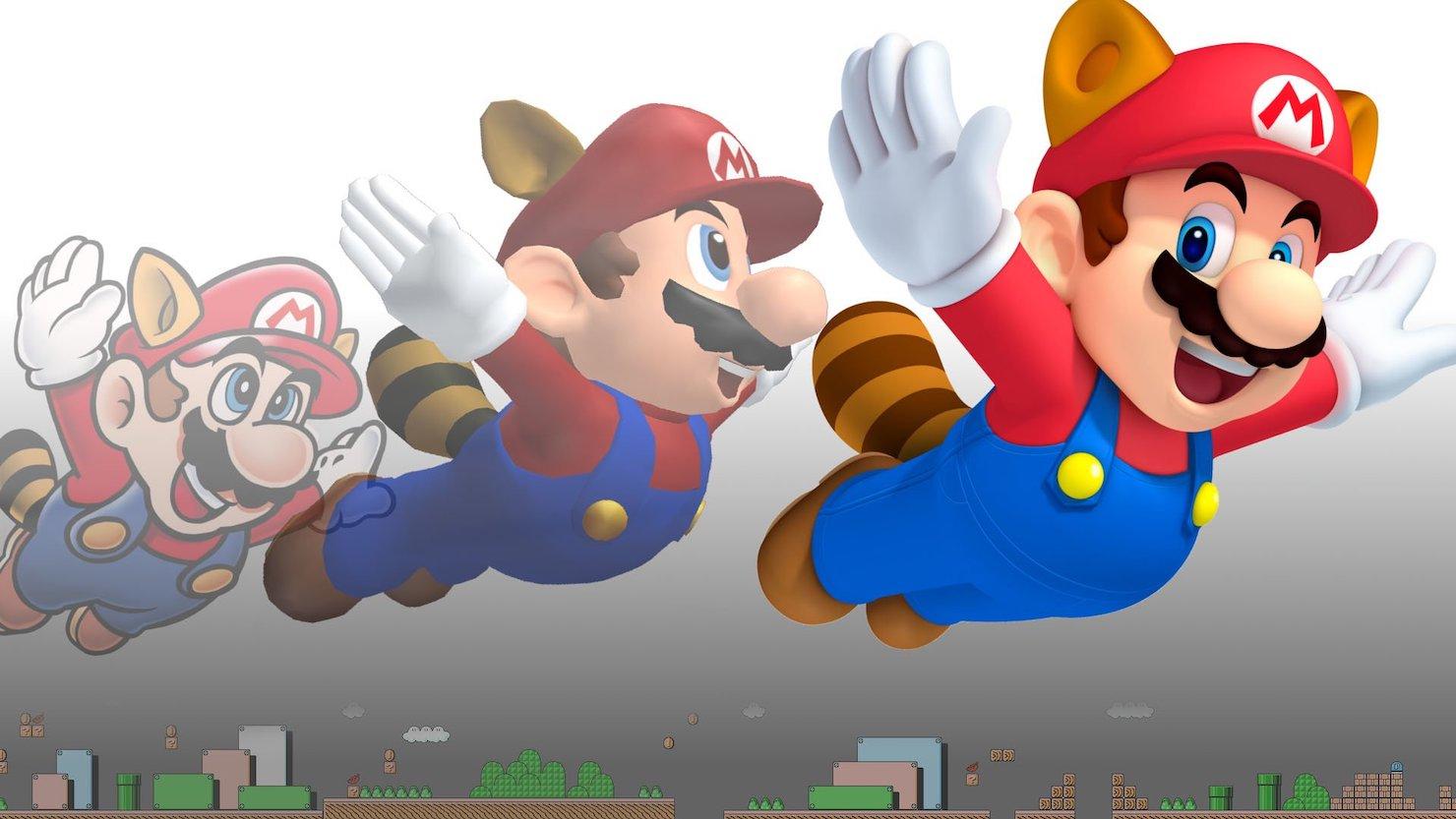 Марио картинки начало