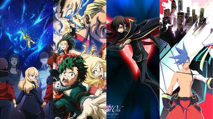 Промар, Код Гиас, Академия супергероев и Мобильный доспех Gundam выйдут в российский прокат
