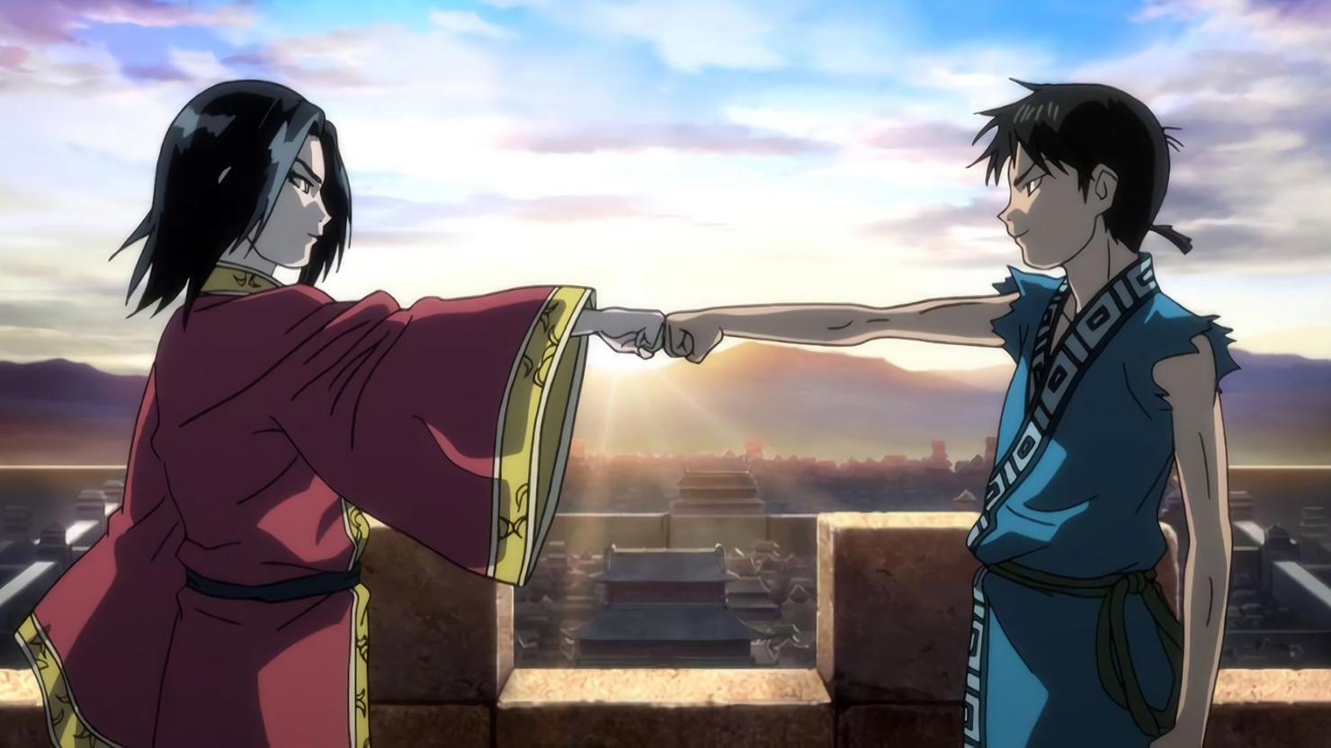 Картинки из аниме царство