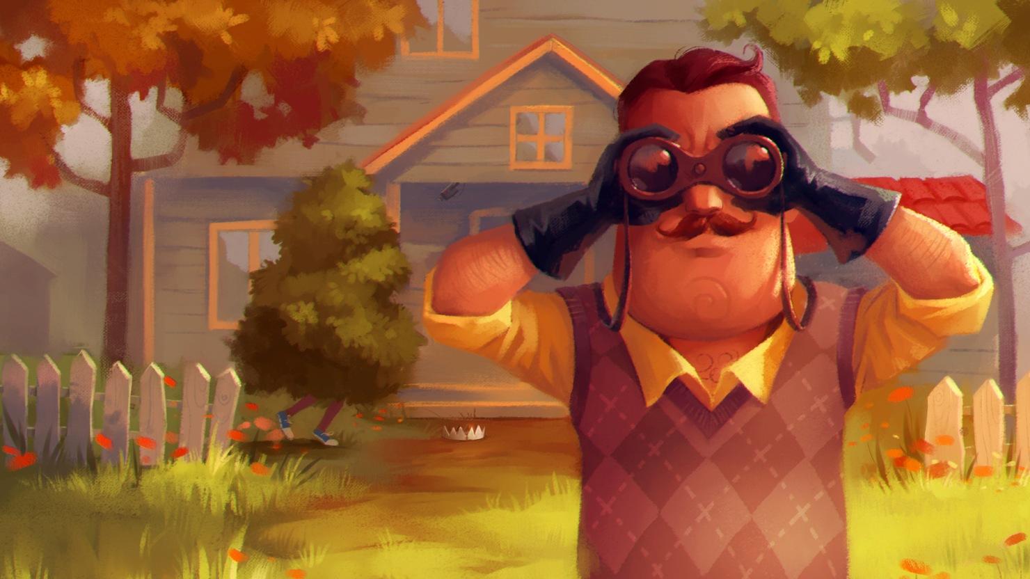Epic Games Store раздаёт бесплатно стелс-хоррор Hello Neighbor