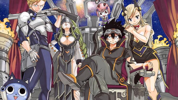 «Нулевой Эдем» — первый тизер нового аниме от автора манги «Сказка о хвосте феи»